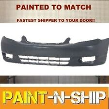 Fits; 2003 2004 Toyota Corolla Front Bumper Painted to Match (TO1000240)