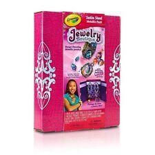 Girls Jewelry Boutique by Crayola Nib Model Magic Satin Steel