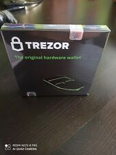TREZOR Crypto Currency Hardware Wallet - Black UK official. Fast and secure Post