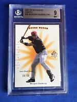 """2001 SP Authentic Limited """"Future Watch"""" Morgan Ensberg RC #96 BGS 9 Mint"""