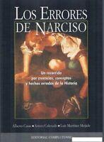 LOS ERRORES DE NARCISO ALBERTO CASAS ARTURO COLORADO LUIS MARTÍNEZ MEIJIDE