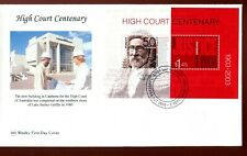 2003 Centenary of High Court (Mini Sheet) Wesley FDC