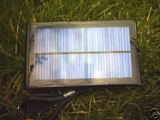 1WATT RESIN  SOLAR PANEL FOR CHARGING SMALL 12V BATTERY IN REMOTE ALARM SYSTEM