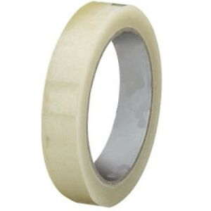 """144 1"""" 25 mm 24 CHEAPEST ROLL OF CLEAR SELLOTAPE SELLO PACKAGING PARCEL TAPE 66m"""