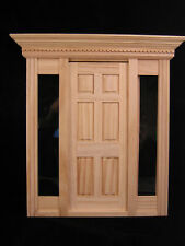 Playscale Jamestown Door  miniature dollhouse 96010 fits 1/8 & 1/6 scale Fashion