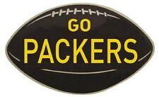 """Green Bay Packers  Vintage Looking 1960's  """"Go Packers""""  Die-Cut   Sticker decal"""