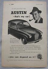 1953 Austin Original advert No.2