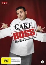 Cake Boss : Season 4 : Collection 1 (DVD, 2012, 3-Disc Set) New Region 4