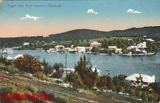 Postcard Paget from Fort Hamilton Bermuda