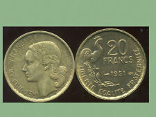 20  FRANCS G. GUIRAUD 1951  SUP