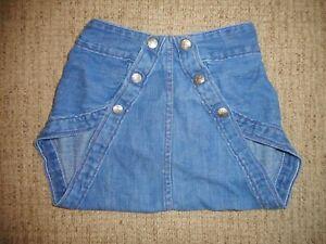 Vintage Diaper Jeans Diaper Cover Denison Texas Large
