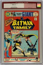 Batman Family #1 DC 1975 CGC 9.2 Batgirl Origin & Robin Team-Up Giant Size