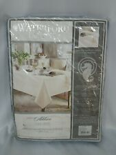 Waterford LINEN TABLECLOTH FRENCH BLUE OBLONG 70×104  SEATS 8-10 NEW $162