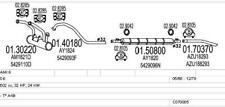 MTS Exhaust system CITROEN AMI 8 0.6 32bhp 01/69 - 12/78