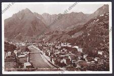 BERGAMO SAN PELLEGRINO TERME 108 Fiume BREMBO Cartolina viagg. 1934 REAL PHOTO