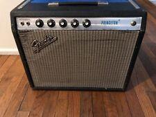 1973 Fender Princeton Amp w/ Cannabis Rex