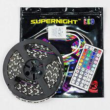 SUPERNIGHT® 5M 3528 RGB Strip Light Non-Waterproof 300leds+44key Remote Co