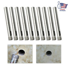 15PC Diamond Drill Bit Set 6mm Tile Marble Glass Ceramic Core Hole Saw Drilling