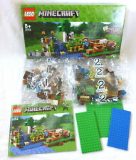 LEGO Minecraft 21114 The Farm - New In Sealed Bags & Box & Instructions