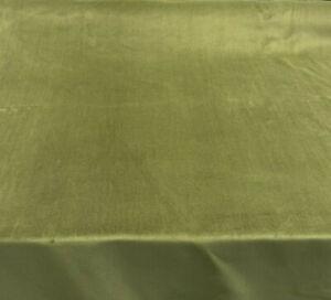 Cotton Velour Green Princess Velvet FR Fabric by the yard