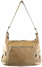 Ladies Large Leather Shoulder Bag / Hand Bag (Black, Brown, Tan, Fawn)