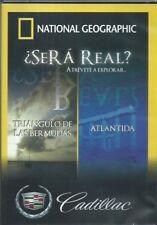 National Geographic: Será Verdad?? Triangulo De Las Bermudas? Atlántida ,DVD,NEW