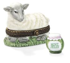 Midwest of Cannon Falls Hinged Box Sheep with Mint Jelly Phb