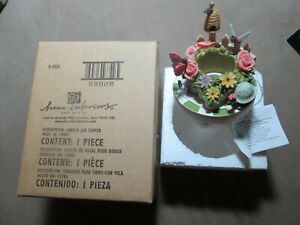 Home Interiors & Gifts Spring Flying Friends Small Candle Capper Topper -NIB