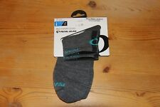Pearl Izumi Elite Low Wool Cycling Socks Shadow Gray MD Medium