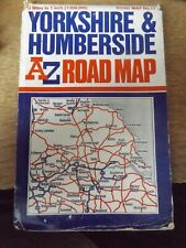 A. to Z. Road Map of Yorkshire and Humberside by Geographers' A-Z Map Company (S