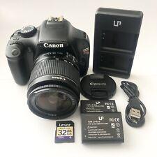 *Mint* Canon EOS Rebel T3 Digital SLR Camera - Black w/Canon 18-55 Lens