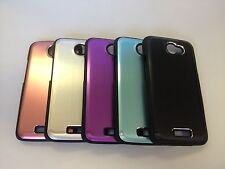 Premium Metallic Hard Back Cover Case for HTC One X