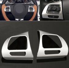 Kit 2 Inserti Comandi Volante VW Volkswagen Golf VI 6 Polo Touran Passat Tiguan