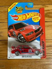 Hot Wheels BMW E36 M3 Race Model Toy Car Red