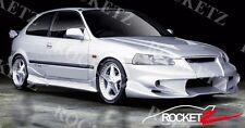 96-00 Honda Civic Vader Style Side Skirts 2DR 3RD Coupe Hatchback JDM USA CANADA
