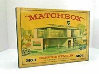 Matchbox Lesney / MG-1 SERVICE STATION BP / Empty Repro Box