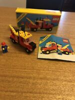 LEGOLAND-6674-BREAKDOWN TRUCK-BOXED-INSTRUCTIONS-RARE-FAB CONDITION-VINTAGE