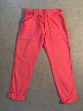 SPLENDID 100% cotton orange roll up trousers Size Medium  Excellent £97.50