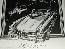 1957 MERCEDES BENZ 300SL advertisement, 300 SL Roadster Mercedes-Benz ad