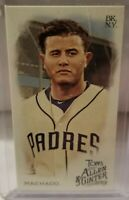 2019 Topps Allen & Ginter MANNY MACHADO SP Mini No Number San Diego Padres /50