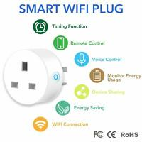 WiFi Smart Life Timer Switch Socket 3 Pin UK Plug FCC Proved Wireless Outlet APP