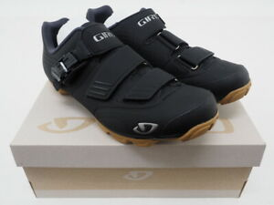 New! Giro Privateer R Mountain Biking Shoes Size 8 US, 41 EU (Black/Brown)