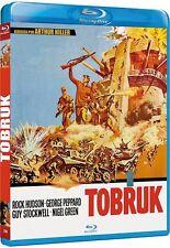 TOBRUK (1967) **Blu Ray B** Rock Hudson, George Peppard,