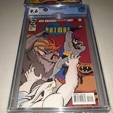 Batman Adventures VOL 1 # 21 CGC 9.6 ( NM+ ) 1994 - White Pages - Excellent Slab