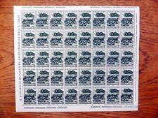 ITALIA 1966 Battaglia di Bezzecca foglio completo di 40 fp9461