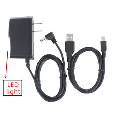 """AC/DC Power Charger Adapter +USB Cord For RCA 10 Viking II RCT6603W47 Tablet 10"""""""
