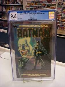 BATMAN MOVIE ADAPTATION (Prestige Format, 1989) CGC Graded 9.6 ~ White Pages