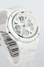 BGA-152-7B1 White Casio Baby-G Ladies Watches Analog Digital Neon Packy Resin