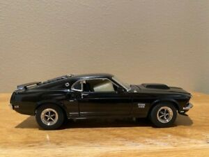 1969 Ford Mustang Boss 429 by DanBury Mint, used, no paperwork, 1/24 scale mint