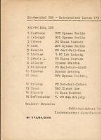 11.09.1984 DDR - Griechenland in Freiberg, Nachwuchs